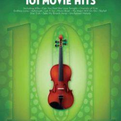 101 Movie Hits für Violine