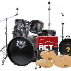 Black Fusion Drumset