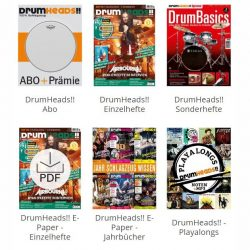 Drumheads Zeitschrift