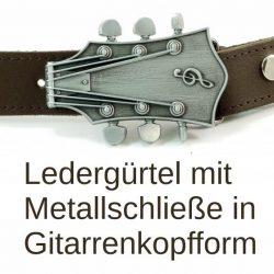 Gürtel mit Gitarrenschließe