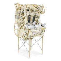 Musikmaschine mit Stahlmurmeln